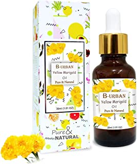 B-URBAN Yellow Marigold Oil 100% Natural Pure Undiluted Uncut Essential Oil 30ml