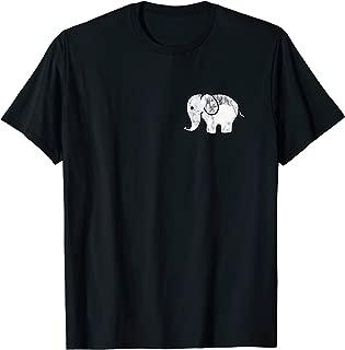 Cute Cartoon Elephant T-Shirt Men Women Kids T-Shirt