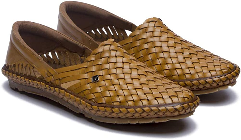 Desi Hangover Men's Sales of SALE items from new works shopping Handcrafted Leather Slip-On Casual Hol Shoes