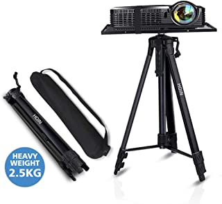 Projector Stand,Laptop Stand,Aluminum Multifunction Tripod Stand with Tray Adjustable Tripod Laptop Projector Stand, 17