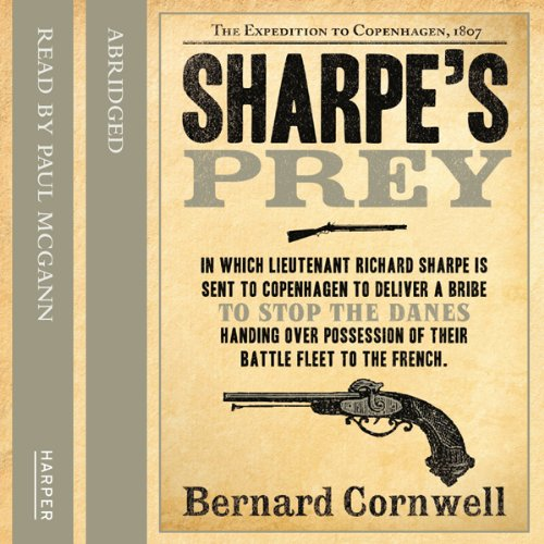 Sharpe's Prey audiobook cover art