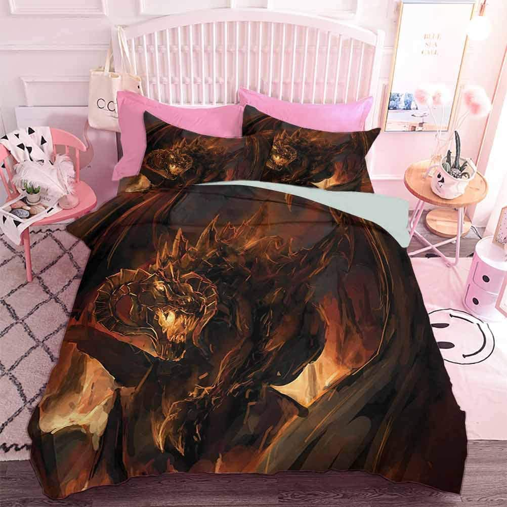Hiiiman Home Textiles In a popularity Bedding Set Demonic Molte Don't miss the campaign Angry Bedclothes