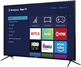Westinghouse 43 inch Roku 4k Ultra HD LED Smart TV with HDR (Renewed)