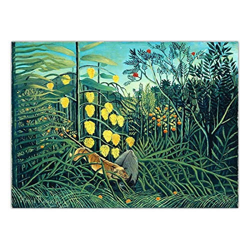 ATggqr Puzzle 1000 Pcs 50x75cm Forest animal scenery Wooden Jigsaw Puzzles Game the bestselling Jigsaw puzzle