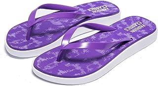 Summer Leisure Slip-On Shoes Light Non-Slip Wear-Resistant Slippers Beach Swimming Walking Indoor Thong Slippers