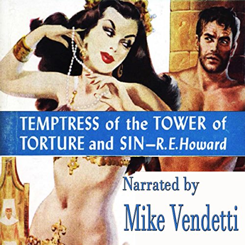Temptress of the Tower of Torture and Sin audiobook cover art