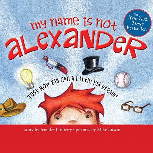 My Name Is Not Alexander audiobook cover art