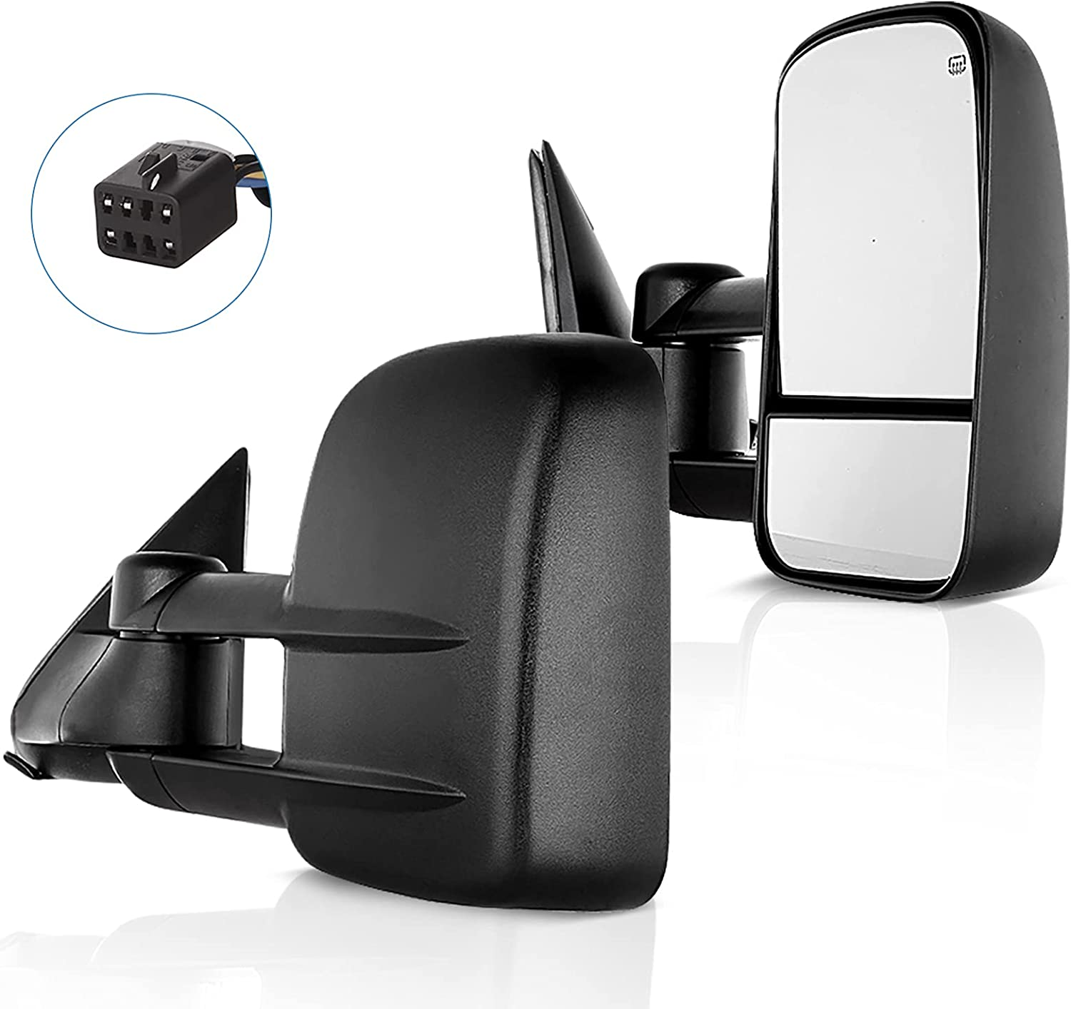ECCPP Tow Bargain Mirrors Towing with Chevy 1999-2002 NEW before selling Compatible