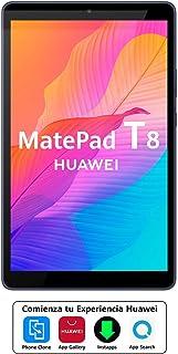 """HUAWEI MatePad T8 - Tablet de 8"""" (Wifi, RAM de 2GB, ROM de 16GB, procesador Octa-core, Diseñada para sus hijos, Sistema Op..."""