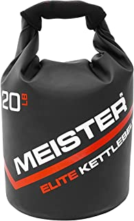 Meister Elite Portatile Kettlebell Sabbia - Peso Morbido Sacchetto di Sabbia - 4,5 kg / 6,8 kg / 9,0 kg