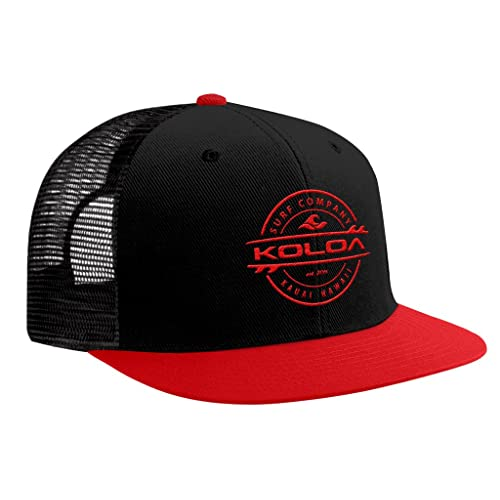 1961509f642 Joe s USA Koloa Surf - Thruster Surfboard Logo Mesh Back Trucker Hats in 12  Colors.