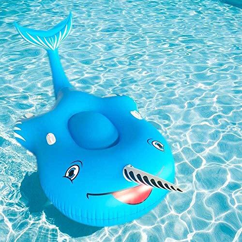 Gcxzb Schwimmreifen Airbetten 2019 Narwhal schwimmende Reihe Aufblasbares Spielzeug Dicke Schwimmbett Schwimmen Ring Wasser Floating Ball