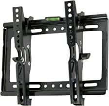 JXMTSPW Tilt TV Wall Mount Small Monitor Bracket Most 14-42 inch Flat Curved Screen Fit 22