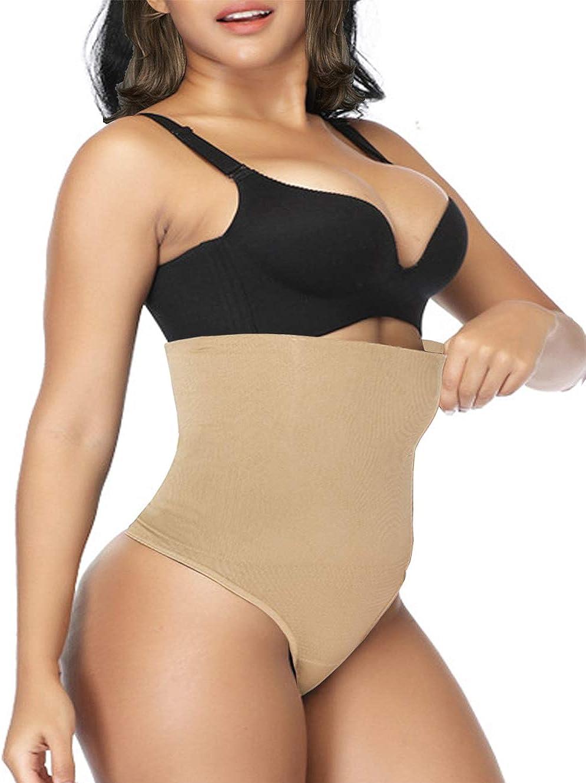 VENDAU Thong Shapewear for Women Tummy Control Womens Shapewear Thong Body Shaper Girdle for Women Tummy Control Thong
