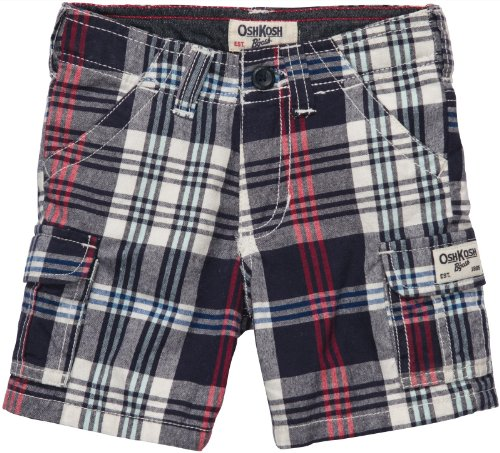 OshKosh B'Gosh Shorts Kurze Hose Kariert Junge Boy Pant Winter Baby (0-24 Monate)