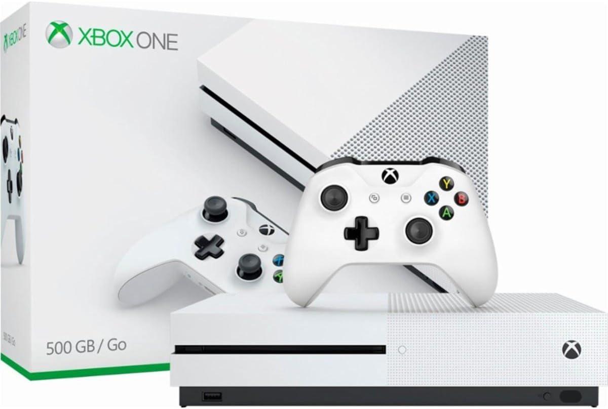 Microsoft - shop Xbox One S Console White Max 47% OFF ZQ9-00028 500GB Renewe