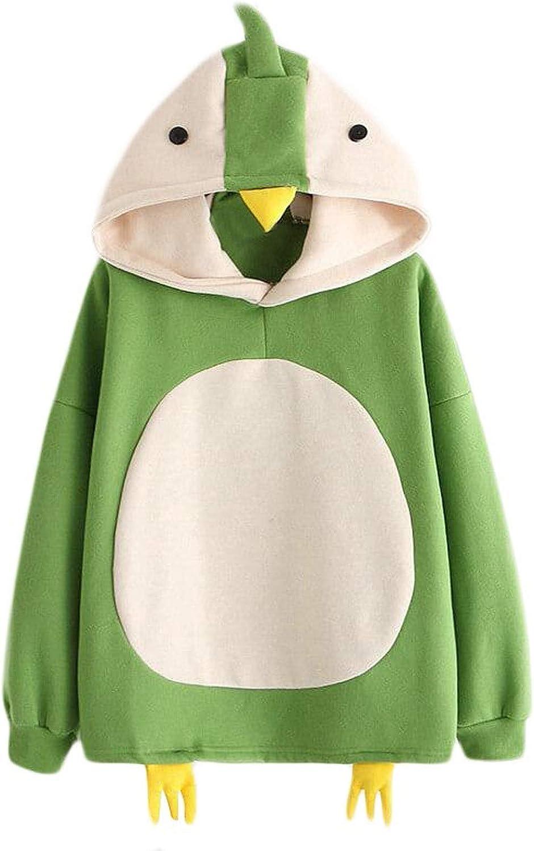 Sweatshirts for Teen Girls Cute Penguin Hooded Sweater Cartoon Cosplay Hoodies Women Long Sleeve Pullover Tops