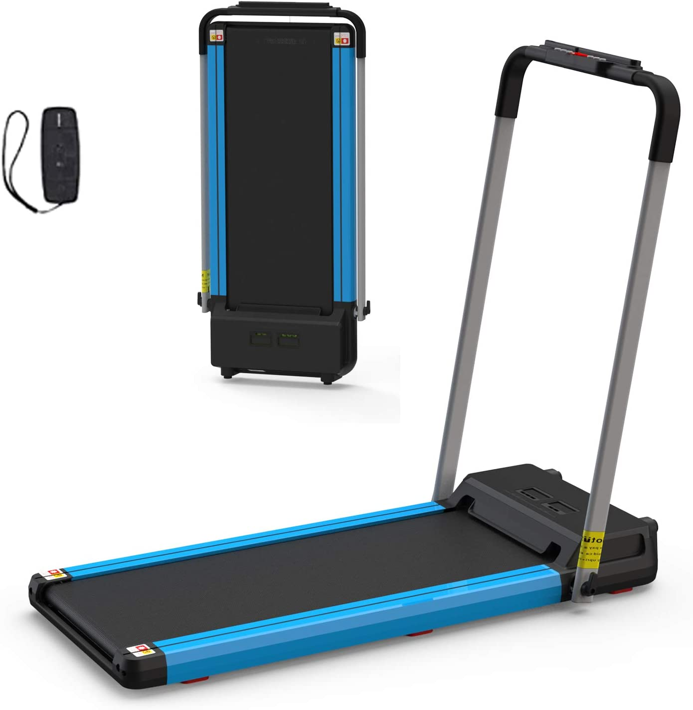 2 in 1 Purchase Folding Treadmill Cheap mail order specialty store Remote with Electric Compact