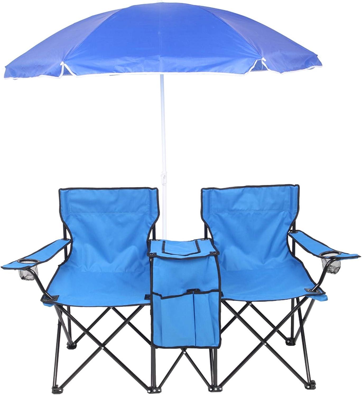 スピード対応 全国送料無料 HANTURE Foldable Camp Chair 売り込み with Portable Ou Canopy Double