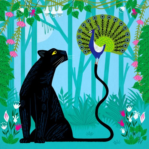 Oliver Lake - The Peacock and the Panther - Limited Edition Poster