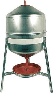 DUVO + depósito de galvanizado/Potable comedero para gallinas