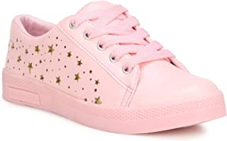 Denill Embroided Flower Desing Women's Sneaker Casual Shoes