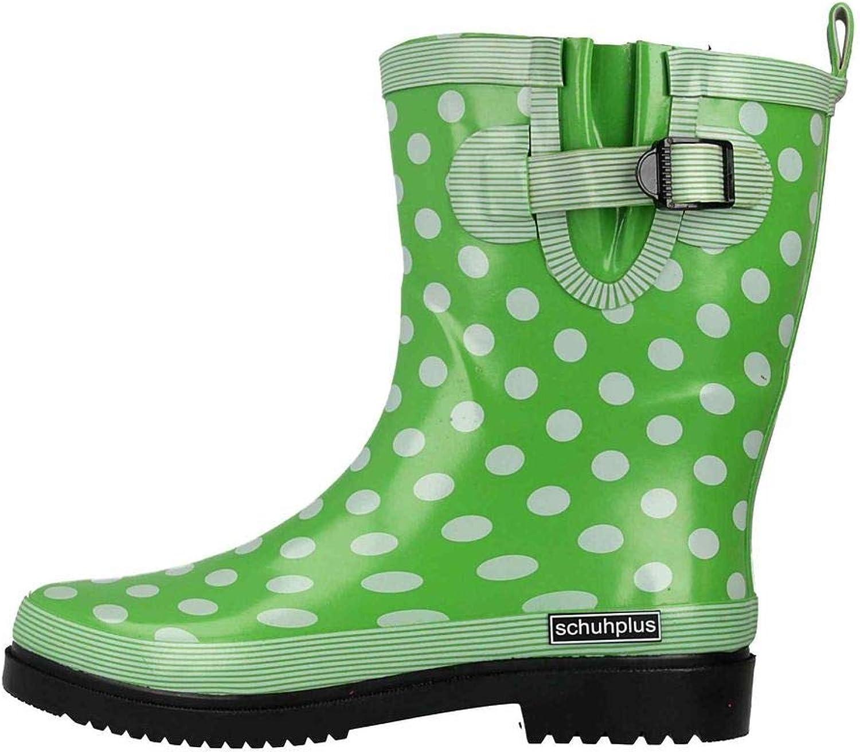 Schuhplus Gummistiefel in Übergrößen Grün Dorin-k-Hellgrün große Damenschuhe  | Quality First  | Merkwürdige Form  | Guter Markt
