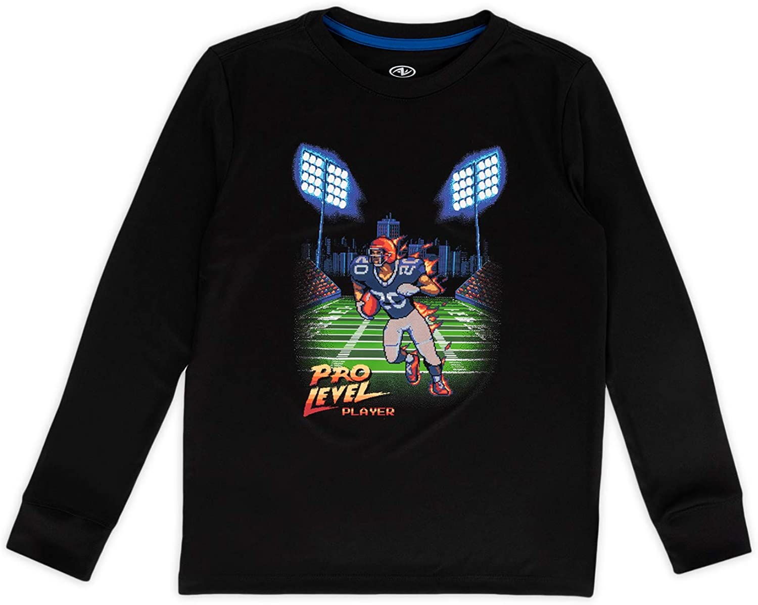 Athletic Works Pro Level Player Kids Graphic Tee L (10-12) Black