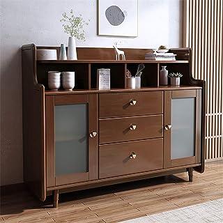 Aparador Armario Cocina comedor Bar Almacén entrada de la tabla de madera de estar bufé servidor de almacenamiento Gabinet...