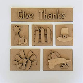 Foundations Décor, Shadow Box Kit - Thanksgiving