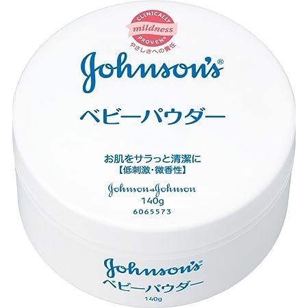 J&J ベビーパウダー 丸缶 140g