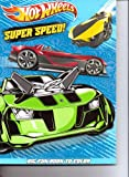 Hot Wheels Big Fun Book to Color ~ Super Speed