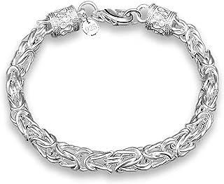 925 الفضة الاسترليني أساور الإبداعية خمر أساور للنساء عشاق اليدوية المجوهرات هدية