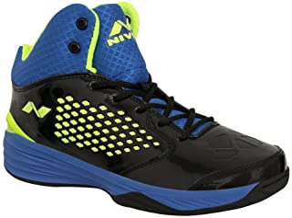 Nivia Men's Warrior-1 PVC Basketball Shoes