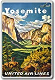 Yosemite, USA - Vintage Travel Fridge Magnet - Calamita da frigo