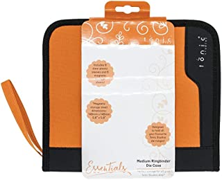 Tonic Studios 344E Medium Ringbinder Case Includes 6 Clear Inserts & Magnetic Sheets, Multicolore