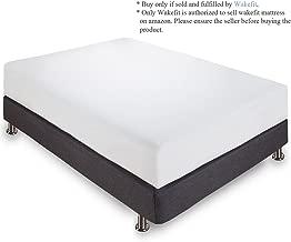 Wakefit Orthopaedic Memory Foam Mattress, Queen Bed Size (78x66x5)