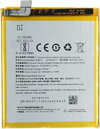 batteria interna blp6373300mAh OnePlus 5T/5
