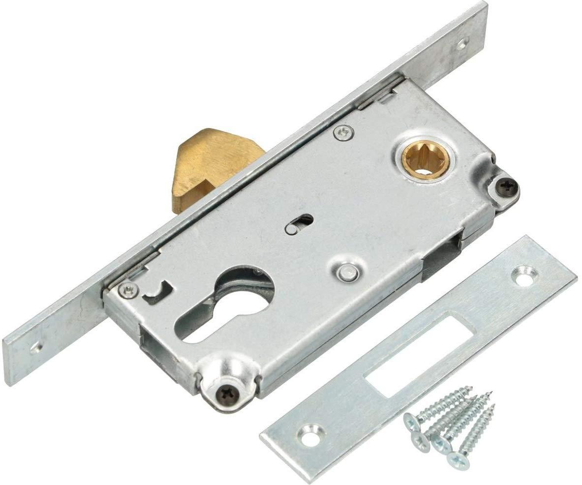 KOTARBAU 72/40 - Cerradura de gancho para puerta corredera (galvanizada, resistente a la corrosión): Amazon.es: Bricolaje y herramientas