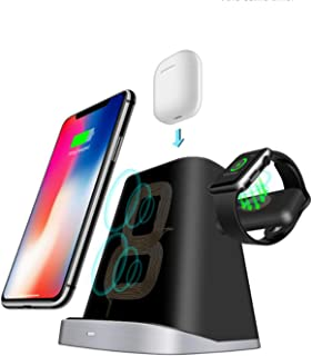 SKEIDO 3 in 1 wireless charger multi-function wireless charger for Apple watch mobile iPhone