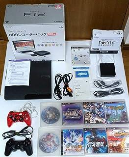 PS3 HDDレコーダーパック 320GB ソフト8本セット 地デジ視聴 録画