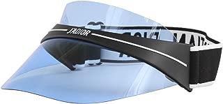 DIORCLUB1 Visor Black White/Blue one Size fits All Unisex Sunglasses