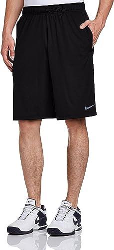 Nike Dri-Fit Hommes's Fly 2.0 Court (Court, Moyen Noir Cool gris)
