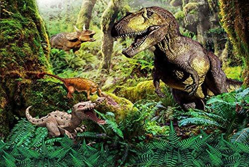 Klassieke Puzzel, Puzzels Dinosaurussen Educatieve puzzel Houten puzzel voor kinderen van 500/1000 stuk voor volwassenen Stevig en gemakkelijk (Color : 8, Size : 500pc)