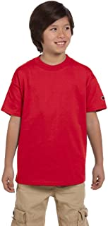 Champion Youth 6.1 oz. Tagless T-Shirt>XL RED T435