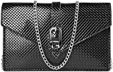 Bolso bandolera para mujer para Moto G9 Play G Fast G Power E7 E6 E5 Plus Z4 Z3, Negro, M