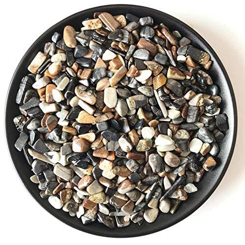 cici 100 g 7-9 mm natürlicher Quarz Versteinertes verkieseltes Holz Fossiles Holz Kristallkies Heilung natürlicher Steine und Mineralien, 100 g 7-9 mm