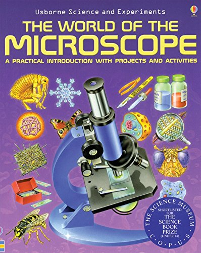 Celestron 44402 'The World of Microscope' Book