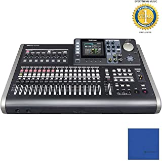 Tascam DP-24SD Digital Portastudio 24-Track SD Card Recorder with Microfiber and 1 Year Everything Music Extended Warranty