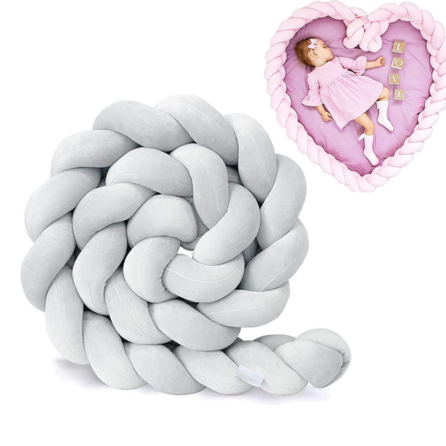 Baby Clearance SALE Limited time Cushion Soft Knot Max 70% OFF Handmade Decoratio Braided Pillow